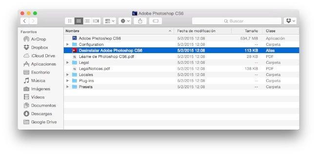 Cómo desinstalar programas en MacOS 1
