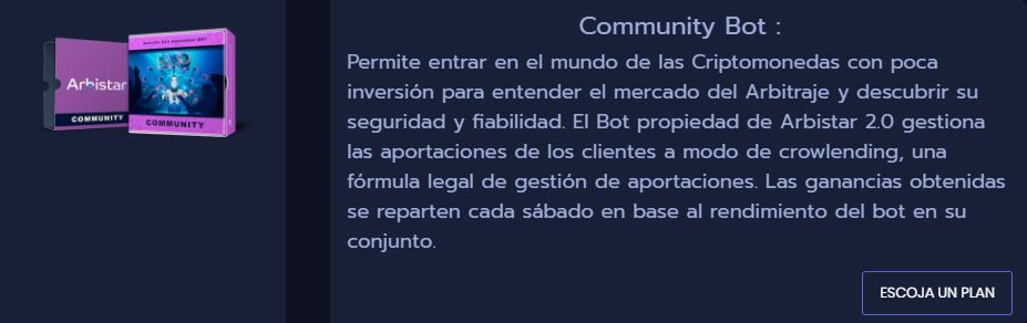 community-bot-arbistar
