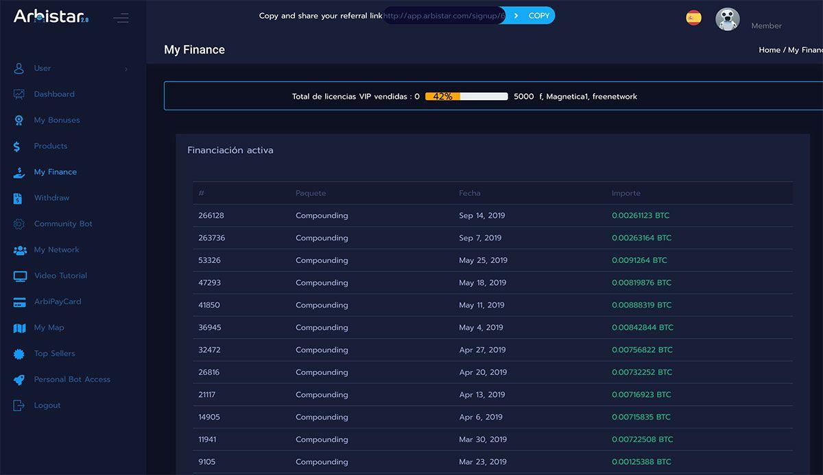 Análisis COMPLETO de la plataforma Arbistar 2.0: ¿Realmente es una estafa o paga? Opiniones y recomendación 1