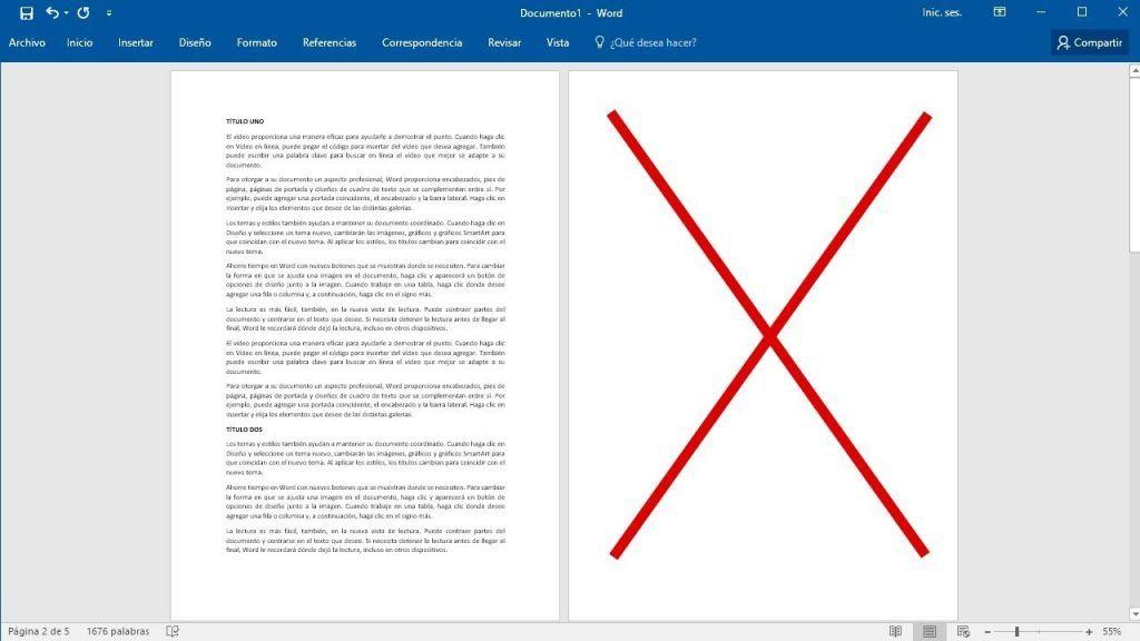 Cómo eliminar una página en blanco de un Word 1