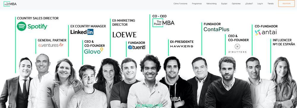 Profesores del MBA ThePowerMBA