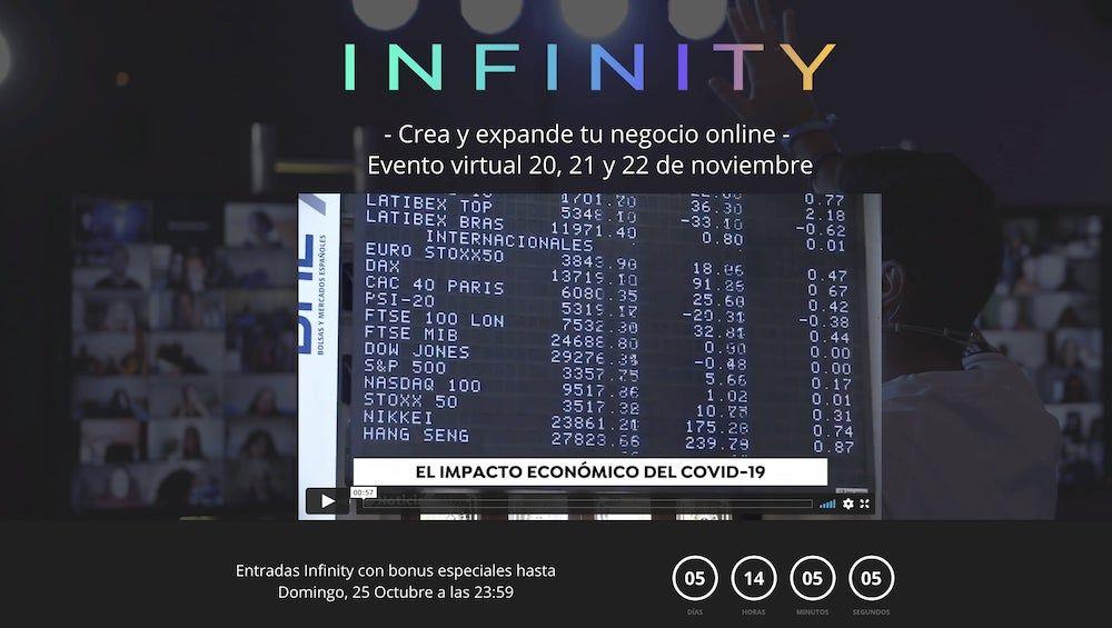 Landing Page de un evento online